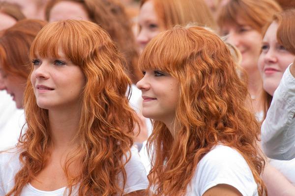 """【女性が多い】世界で一番珍しい髪の色""""赤毛""""を持つ人達がオランダに集結!"""