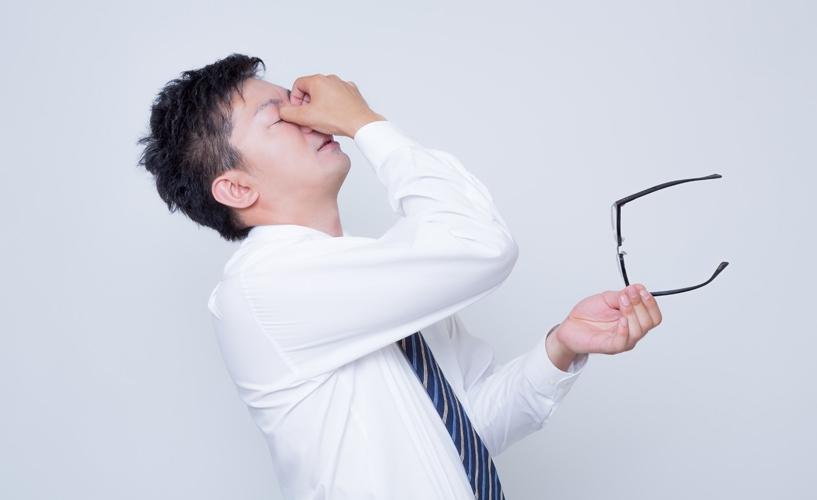 まぶたの痙攣 その目の疲れの原因は「栄養不足」でした。